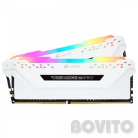 16 GB DDR4 2666 MHz (PC4-21300) Corsair Dual RAM KIT (Vengeance RGB Pro White)
