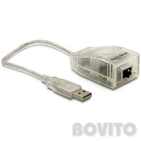 DeLock USB2.0 - UTP 10/100 adapter