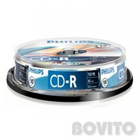 Philips CD-R 80` 52x 10db/henger